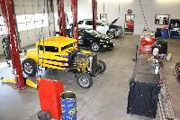 Large Efficient Vehicle Work Bays